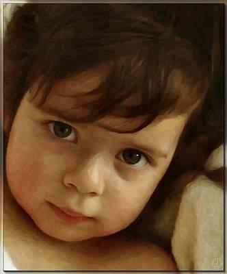Wondering Eyes Art Print by Gun Legler