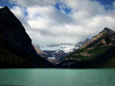 Banff Canada Photograph - Wonderland Of Lake Louise by Karen Wiles