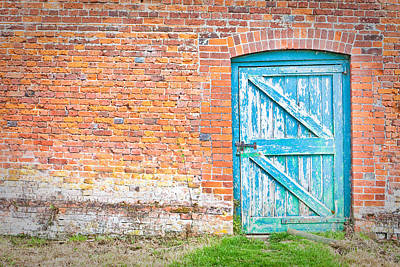 Wonky Door Art Print by Tom Gowanlock