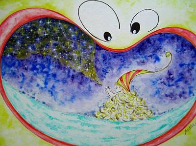 Woo Art Print by Asida Cheng