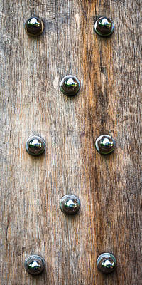 Wood And Bolts Print by Tom Gowanlock