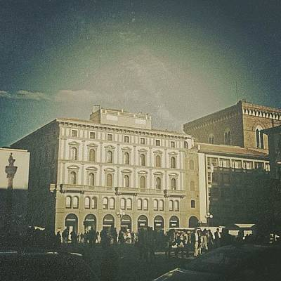 #woodcamera #florence #iphoneography Art Print by Andrea Bigiarini
