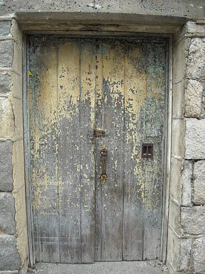 Wooden Doors Art Print