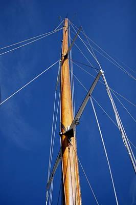Photograph - Wooden Mast by Van Corey