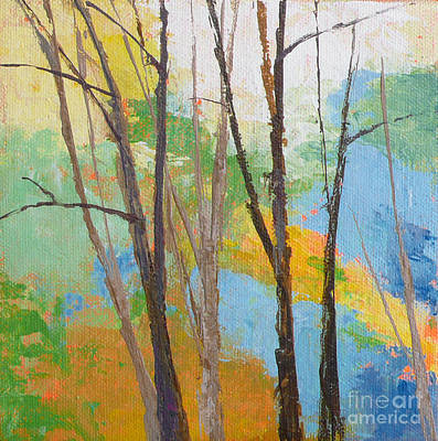 Painting - Woodland #2 by Melody Cleary