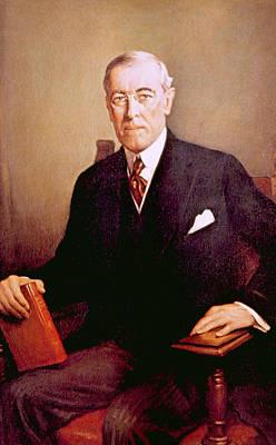 Woodrow Wilson 1856-1924, U.s Art Print by Everett