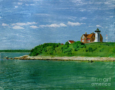 Photograph - Woods Hole Lighthouse by Bob Senesac