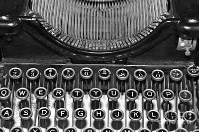 Photograph - Woodstock Typewriter 2 by Pamela Walrath