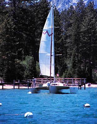 Lake Tahoe Photograph - Woodwind On Lake Tahoe by LeeAnn McLaneGoetz McLaneGoetzStudioLLCcom