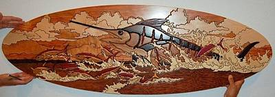Woodwork Relief - Woodwork by Carey Chen