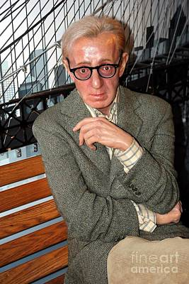 Woody Allen Photograph - woody Allen by Sophie Vigneault