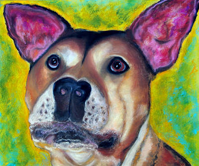 Painting - Woof Woof by Laura  Grisham