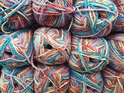 Photograph - Wool by Ed Lukas
