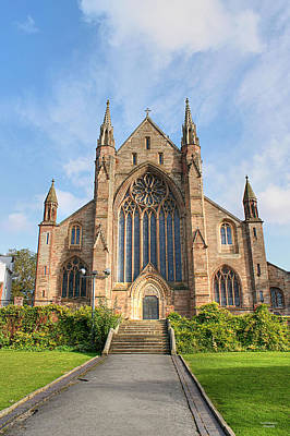 Photograph - Worcester Cathedral by Sarah Broadmeadow-Thomas