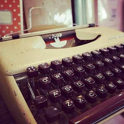 Typewriter Photograph - Words Cannot Describe What You Mean To by Co Cheng