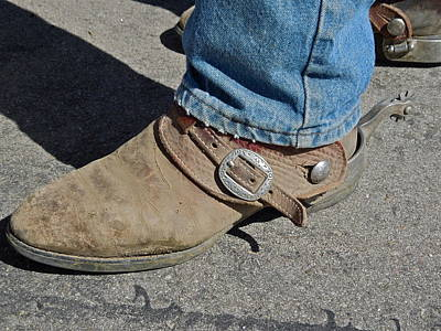 Photograph - Work Boots by Diana Hatcher