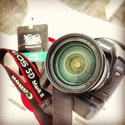 Gears Photograph - #work #gear #lens #canon #mark2 #adidas by Jerry Tang