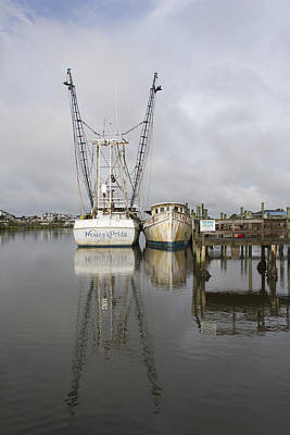 Photograph - Working Boats by Alan Raasch