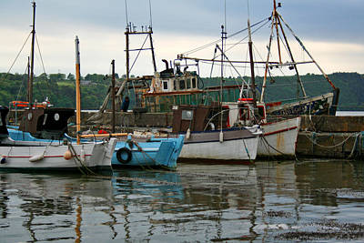 Photograph - Working Boats by Van Corey