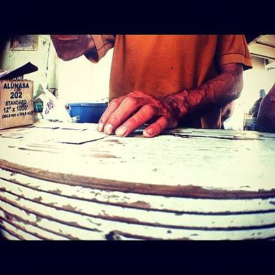 Working Hands #puertorico #piñones Art Print