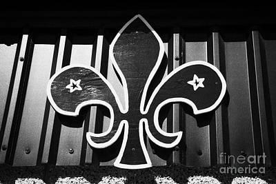 Fleur De Lis Photograph - World Boy Scout Emblem On A Building In Scotland Uk United Kingdom by Joe Fox