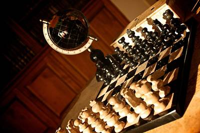 Photograph - World Chess by Elizabeth Marks