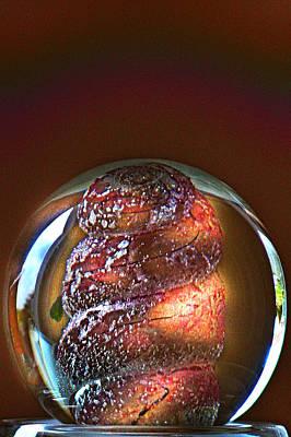 World In A Glassball 01 Art Print by Li   van Saathoff