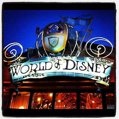Bright Wall Art - Photograph - World Of Disney by Lea Ward