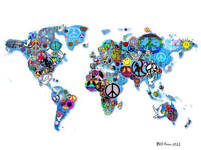 World Peace Art Print by Bill Cannon