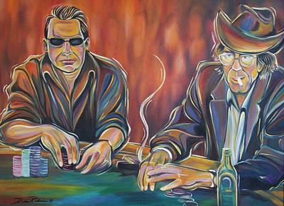 World Series Of Poker Art Print by Redlime Art