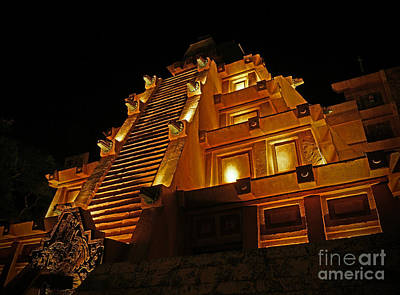 Pyrography - World Showcase - Mexico Pavillion by AK Photography