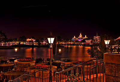 Photograph - World Showcase Hdr by Jason Blalock