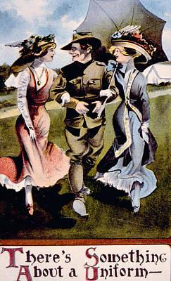World War I, American Enlistment Art Print by Everett
