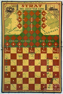 Photograph - World War I: Board Game by Granger