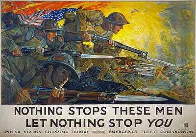Photograph - World War I: Poster, 1918 by Granger