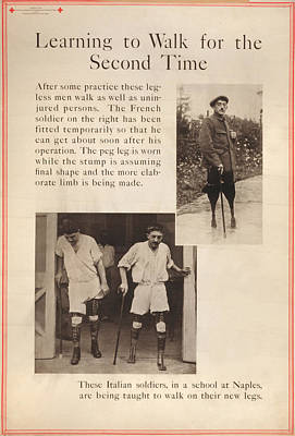 World War I, Red Cross Poster Showing Art Print by Everett