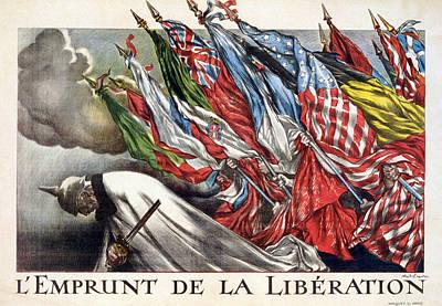 World War I, The Liberation Loan Art Print by Everett