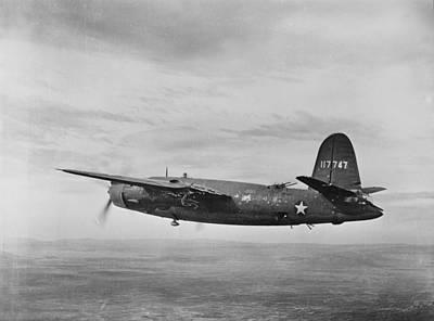 1940s Candid Photograph - World War II, B-26 Martin Marauder by Everett