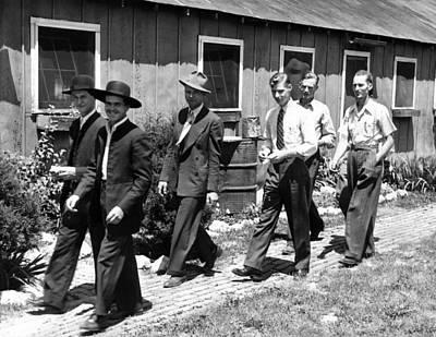 Compulsion Photograph - World War II Conscientious Objectors by Everett