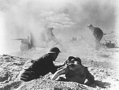 Photograph - World War II: North Africa by Granger