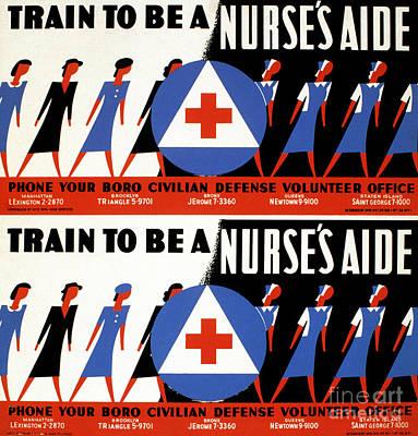 Photograph - World War II Poster, C1942 by Granger