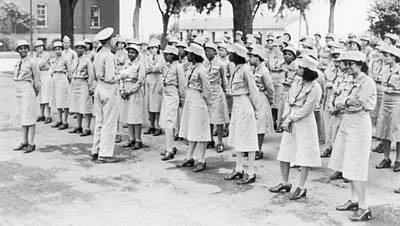 World War II. Womens Army Auxiliary Art Print