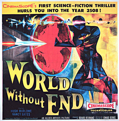World Without End, Poster Art, 1956 Art Print by Everett