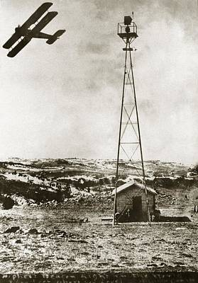 Black Commerce Photograph - World's Highest Beacon Light, 1920s by Miriam And Ira D. Wallach Division Of Art, Prints And Photographsnew York Public Library