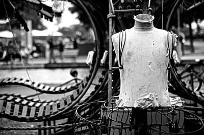 Montreal Street Life Photograph - Worn And Torn by Valerie Rosen