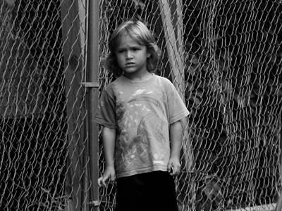 Worried Innocence Art Print by Jonathan Baca