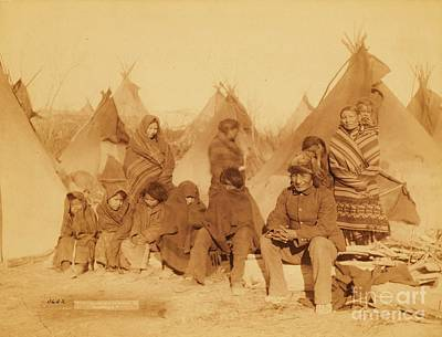 Wounded Knee Survivors Art Print by Pg Reproductions