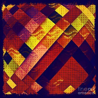 Digital Art - Woven Waves by Ankeeta Bansal