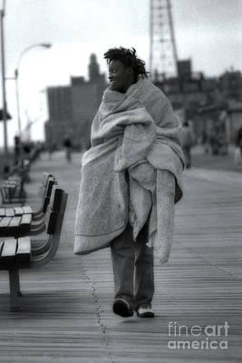 Boardwalk Photograph - Wrapped by Jeff Breiman