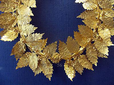 Wreath Oak-leaves Art Print by Andonis Katanos